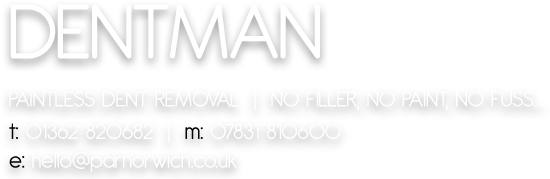 Dentman - Paintless Dent Removal, Norwich